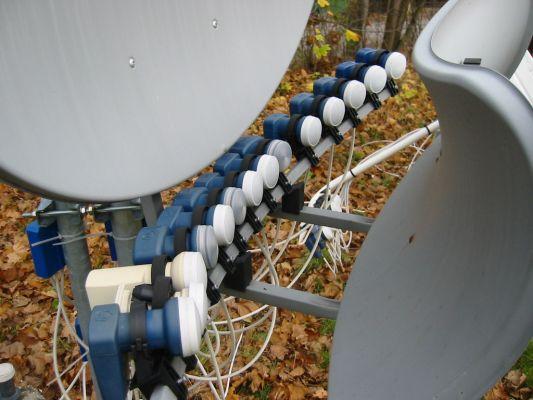 Установка антенны нтв плюс, триколор тв, континент тв. Телевизионные